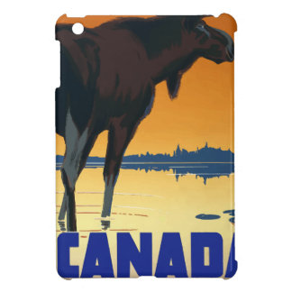 Vintage Travel Canada iPad Mini Case