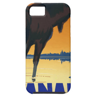 Vintage Travel Canada iPhone 5 Cases