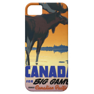 Vintage Travel Canada iPhone 5 Covers