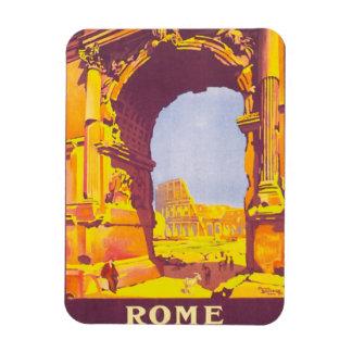 Vintage Travel, Coliseum, Rome Italy Italian Magnet