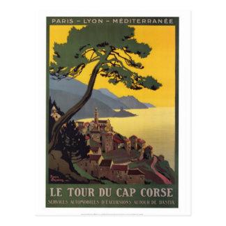 Vintage travel Corsica - Postcard