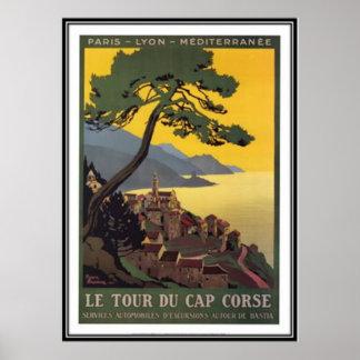 Vintage travel Corsica - Posters
