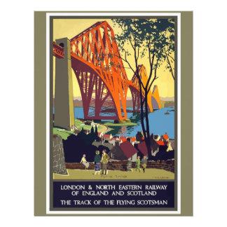 Vintage Travel England And Scotland Letterhead