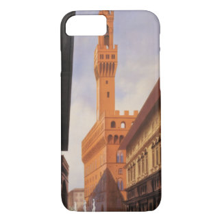 Vintage Travel, Firenze, Florence, Palazzo Vecchio iPhone 7 Case