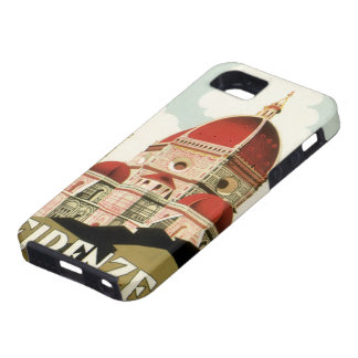 Vintage Travel Florence Firenze Italy Church Duomo iPhone 5 Cover