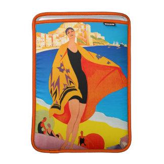 Vintage Travel - French Mediterranean - Lyons Sleeve For MacBook Air