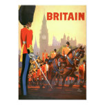Vintage Travel, Great Britain England, Royal Guard Custom Announcements