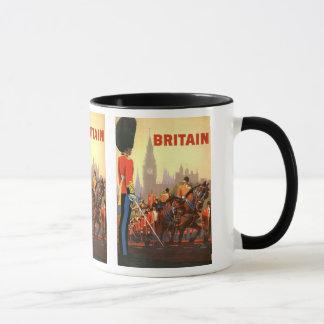 Vintage Travel, Great Britain England, Royal Guard Mug
