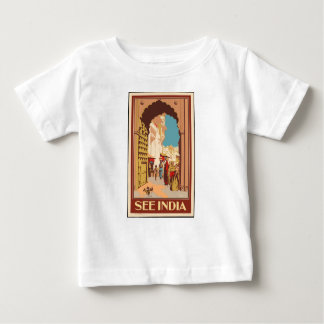 Vintage Travel India Baby T-Shirt