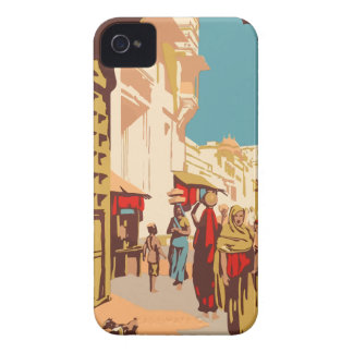 Vintage Travel India Case-Mate iPhone 4 Case