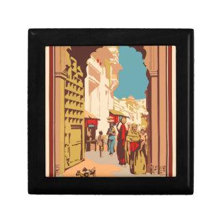 Vintage Travel India Gift Box