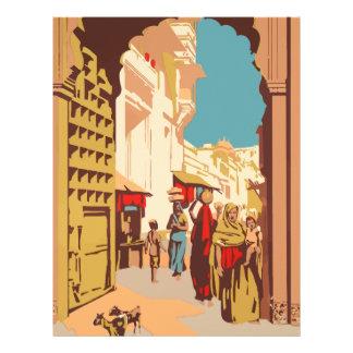 Vintage Travel India Letterhead
