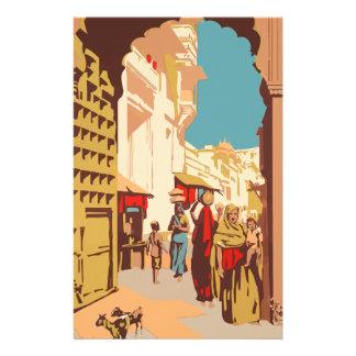 Vintage Travel India Stationery