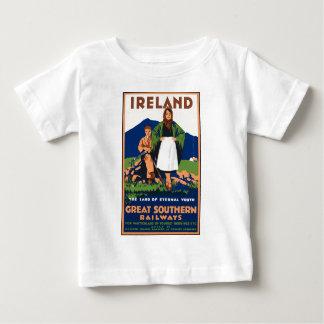 Vintage Travel Ireland Baby T-Shirt
