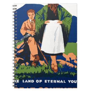 Vintage Travel Ireland Notebooks