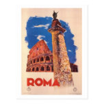 Vintage travel Italy, Rome  - Postcards