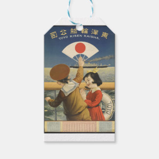 Vintage Travel Japan Gift Tags