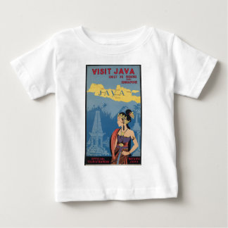 Vintage Travel Java Indonesia Baby T-Shirt