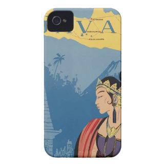 Vintage Travel Java Indonesia Case-Mate iPhone 4 Case