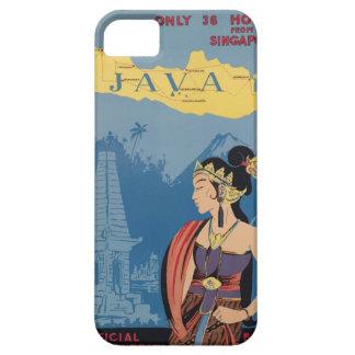 Vintage Travel Java Indonesia iPhone 5 Case
