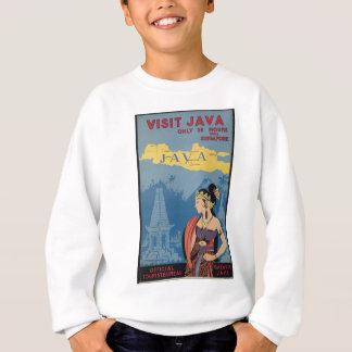 Vintage Travel Java Indonesia Sweatshirt