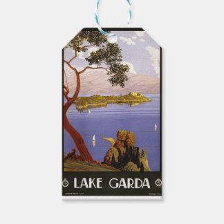 Vintage Travel Lake Garda Italy 1924 Gift Tags