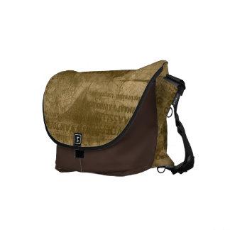 Vintage Travel Messenger Bag