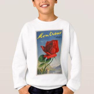 Vintage Travel Montreux Switzerland Sweatshirt