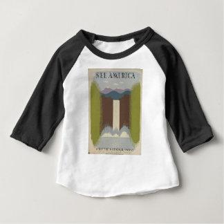 Vintage Travel National Parks Baby T-Shirt