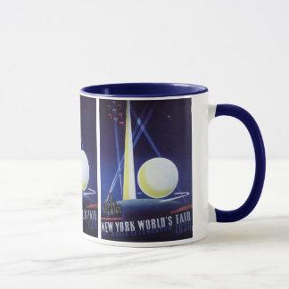 Vintage Travel, New York City World's Fair 1939 Mug