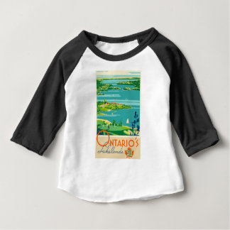 Vintage Travel Ontario Canada Baby T-Shirt