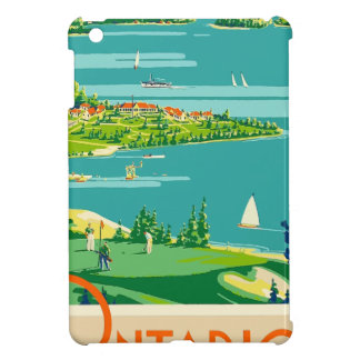 Vintage Travel Ontario Canada Cover For The iPad Mini