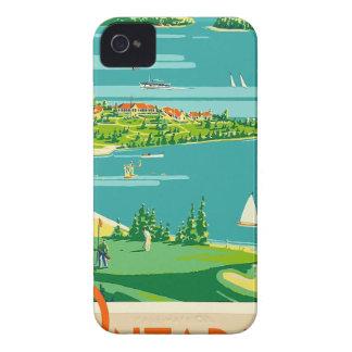 Vintage Travel Ontario Canada iPhone 4 Case