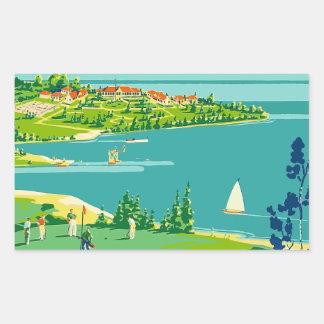 Vintage Travel Ontario Canada Sticker