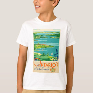 Vintage Travel Ontario Canada T-Shirt