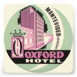 Vintage Travel, Oxford Hotel, Montevideo, Uruguay Invite