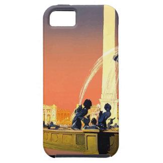 Vintage Travel Paris France iPhone 5 Cover
