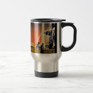 Vintage Travel Paris France Travel Mug