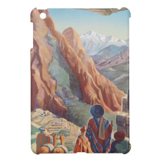 Vintage Travel Peru Cover For The iPad Mini
