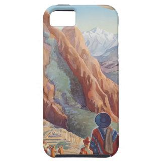 Vintage Travel Peru iPhone 5 Cases