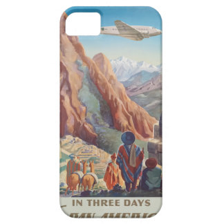 Vintage Travel Peru iPhone 5 Cover