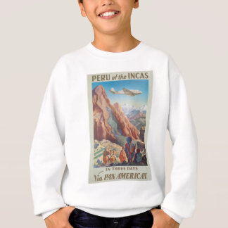 Vintage Travel Peru Sweatshirt