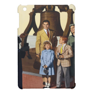 Vintage Travel Philadelphia iPad Mini Cases