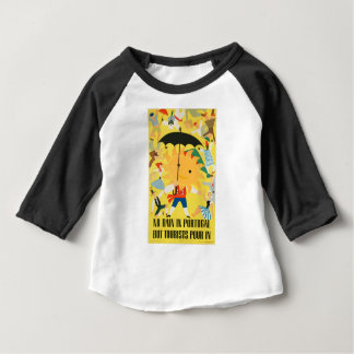 Vintage Travel Portugal Baby T-Shirt
