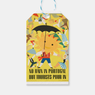 Vintage Travel Portugal Gift Tags