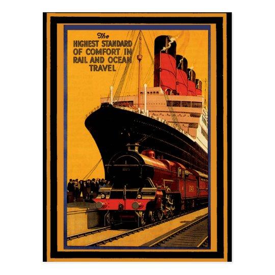 Vintage Travel Poster 19 Postcard