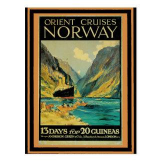 Vintage Travel Poster 37 Postcard