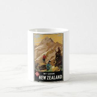Vintage Travel Poster Ad Retro Prints Classic White Coffee Mug