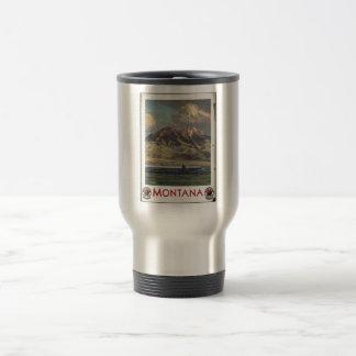 Vintage Travel Poster Ad Retro Prints Coffee Mug