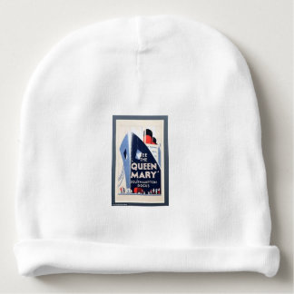 VINTAGE TRAVEL POSTER - BABY BEANIE